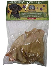 Silver Spur Natural Buffalo Ears 6-pk