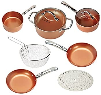 Copper Chef 9-Piece Round Set