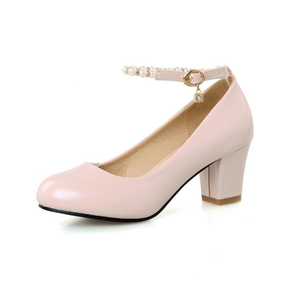 AdeeSu - Zapatos cerrados Para mujer 39.5 EU|Rosado