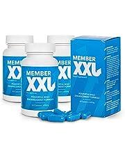 Member XXL (3x) Krachtmedicatie en penisvergroting, krachtige formule voor mannelijke verbetering, voedingssupplement (180 capsules)