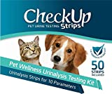 CheckUp 10 Parameters Urine Testing Strips for Cats