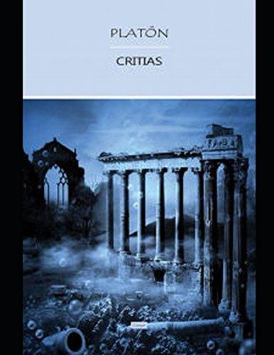 Critias: o de la Atlantida (Spanish Edition) [Platon] (Tapa Blanda)