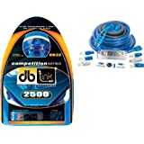 db Link CK2Z 2 AWG Competition Series Amplifier Installation Kit (Blue)