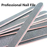 Nail Files Black Straight Nail file Double Sided