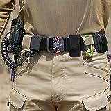 Tactical Belt for Men, Black Tactical Belt Heavy