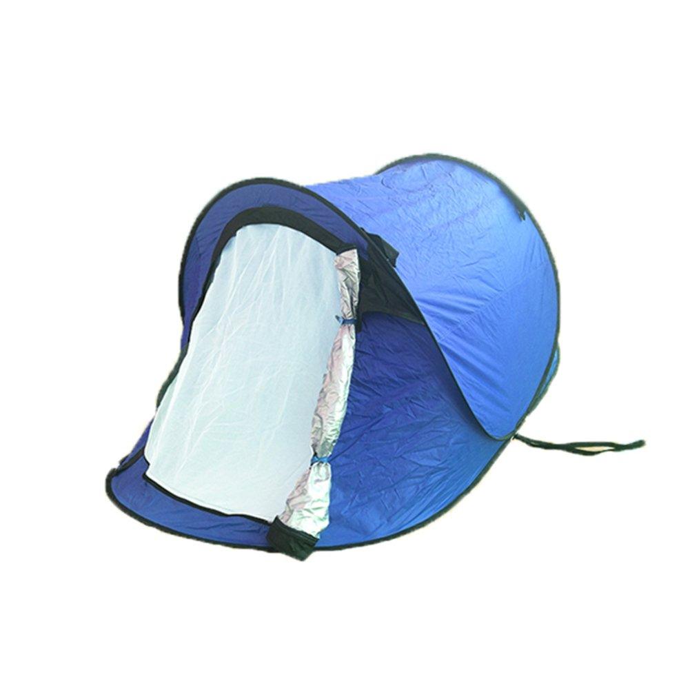 TY&WJ Vollautomatische Campingzelt,Double Layer Kuppelzelte Für Outdoor-aktivitäten Klettern Wandern Tipi Portable Faltung 2 Personen