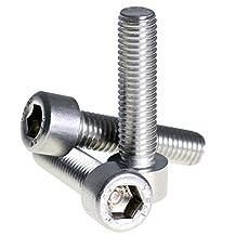Bolt Base 5mm A2 Stainless Steel Allen Bolt Socket Cap Screw Hex Head M5 X 20 - 50