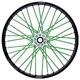 Tusk Spoke Sleeves Green -Fits: Kawasaki KLX250S 2012-2014