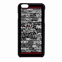 Grey S Anatomy Quote Case iPhone 6/6s