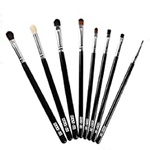 Changeshopping(TM)Real Techniques Professional Core Collection Set Makeup brushes Blend Shadow Angled Eyeliner Smoked Bloom Eye Brushes Set