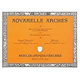 Arches Aquarelle Watercolor Block 140 lb. rough 9