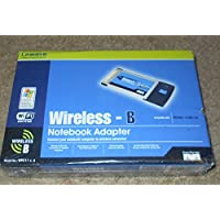 Linksys WPC11 v.4 Wireless-B Notebook Adapter