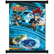 "Beyblade Metal Fusion Anime Fabric Wall Scroll Poster (32""x40"") Inches"