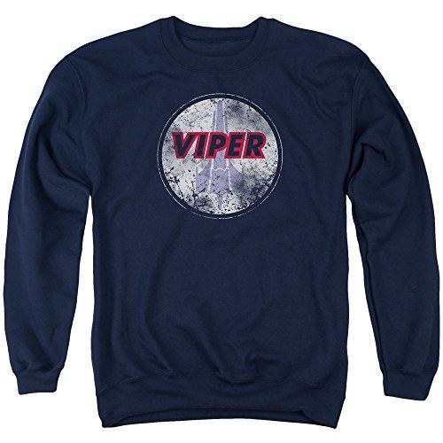 Bsg - War Torn Viper Logo Adult Crewneck Sweatshirt