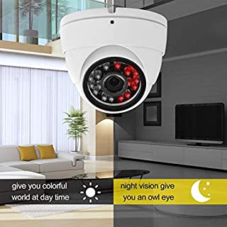 Surveillance Camera, Home Outdoor Security Camera HD 1200 TVL Security Dome Camera Surveillance