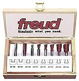 Freud 96-100 8-Piece Dovetail Incra Jig Router Bit