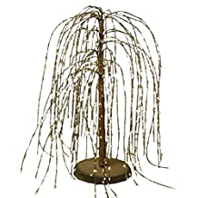 CWI Gifts Weeping Willow Tree, 24-Inch, Cream