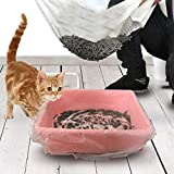 Machao Cat Sifting Litter Box Liners,Elastic Cat Pan Liners-Free your hands! 1510 In 10 Count