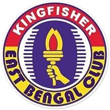 East Bengal Club - India Football Soccer Futbol - Car Sticker - 4