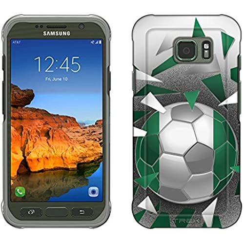 Samsung Galaxy S7 Active Case, Snap On Cover by Trek Soccer Ball Nigeria Slim Case Sales