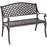 Amazon Com Benches Patio Seating Patio Lawn Amp Garden