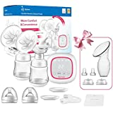 Double Electric Breast Pump Portable - Opoway Dual Breast...