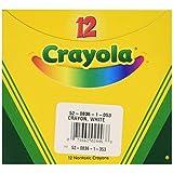 Crayola Crayons-White 12/Pkg