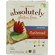 Absolutely Gluten Free Flatbread, Original, 5.29-Ounce