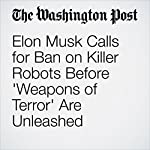 Elon Musk Calls for Ban on Killer Robots Before 'Weapons of Terror' Are Unleashed | Peter Holley