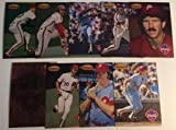 1994 Ted Williams Mike Schmidt insert 9 card set