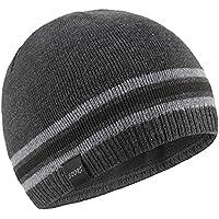OMECHY Mens Winter Beanie Hat Warm Cuff Toboggan Knit Ski Skull Cap