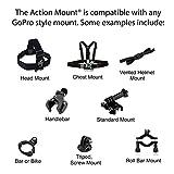 Action Mount Remote Pole Mount Clip Attachment for