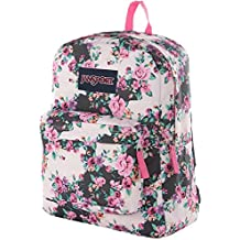JanSport Classic SuperBreak Backpack - Multi Grey Floral Flouris