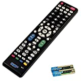 HQRP Remote Control for Sharp AQUOS LC-32D6U LC-32D7U LC-32D62U LC-32D64U LCD LED HD TV Smart 1080p 3D Ultra 4K + HQRP Coaster