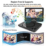 WONNIE 9 inch Portable DVD Player for