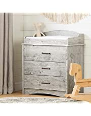 Helson Changing Table with Drawers-Seaside Pine-South Shore