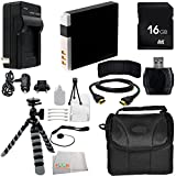 Accessory Kit for Canon Powershot SX530 HS, SX610 HS, SX710 HS, SX600 HS, SX700 HS, SX520 HS, SX510 HS, SX500 IS, SX280 HS, SX260 HS, SX170 IS, SD1300 IS, SD1200 IS, SD980, SD770, SD1300, D30, D20, D10, IXUS 85 IS, IXUS 95 IS, IXUS 200 IS Cameras