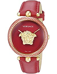 Women s  Palazzo Empire  Swiss Quartz Gold-Tone and Stainless Steel Casual  Watch,. Versace 17c63d3e3cc