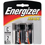 Energizer Max Alkaline Batteries, 2 Count