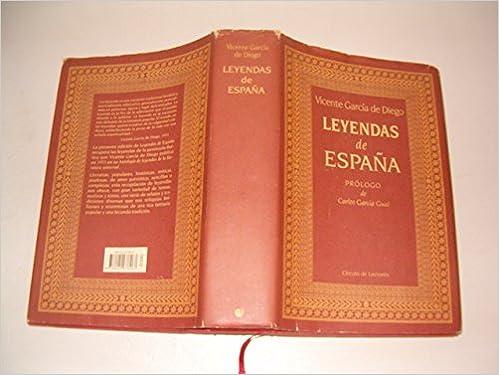 Leyendas de España: Amazon.es: VICENTE GARCÍA DE DIEGO: Libros
