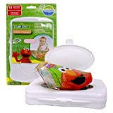Sesame Street Neat Solutions Table Topper with Travel Case, 18-Count
