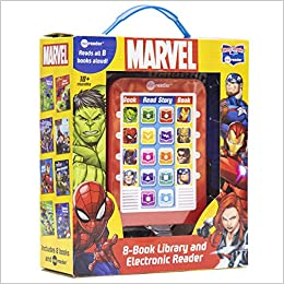 Marvel Super Heroes - Me Reader Electronic Reader with 8 Book Library