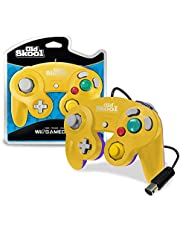 Old Skool GameCube / Wii Compatible Controller - Yellow/Purple Special Edition