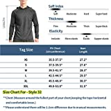 Zengjo Men's Hooded Long Sleeve Workout Shirts