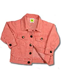 Baby & Toddler Jean Jackets Boutique Pink