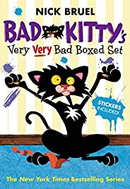 Bad Kitty's Very Very Bad Boxed Set (#2): Bad Kitty Meets the Baby, Bad Kitty for President, and Bad Kitty