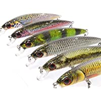 wLure Minnow Crankbait for Bass Fishing Bass Lure Fishing...