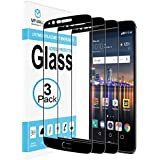 [3-PACK] LG Stylo 3 Screen Protector, MP-MALL [Tempered Glass][Full Cover] with Lifetime Replacement Warranty
