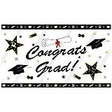 GOER 78 Inch Graduation Banner for 2019 Graduation Party Decorations Photo Backdrop