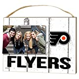 "KH Sports Fan 1001100660 10""x8"" Philadelphia Flyers Clip It Weathered Logo NHL Photo Frame"